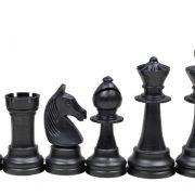 1 Piese de șah din plastic STAUNTON nr 6