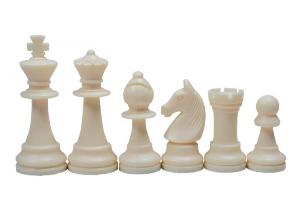 2 Piese de șah din plastic STAUNTON nr 6