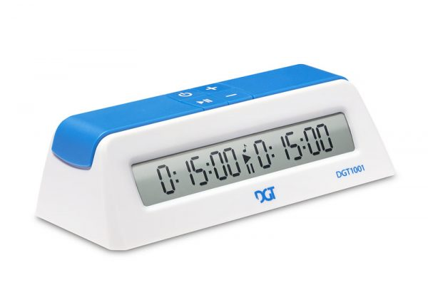 DGT 1001 ceas de sah digital alb (2)