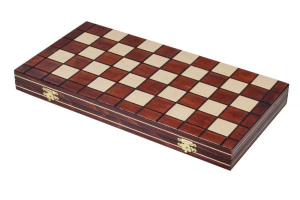 1 Joc de dame din lemn cu 100 de campuri