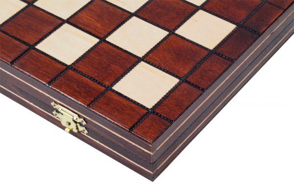 2 Joc de dame din lemn cu 100 de campuri
