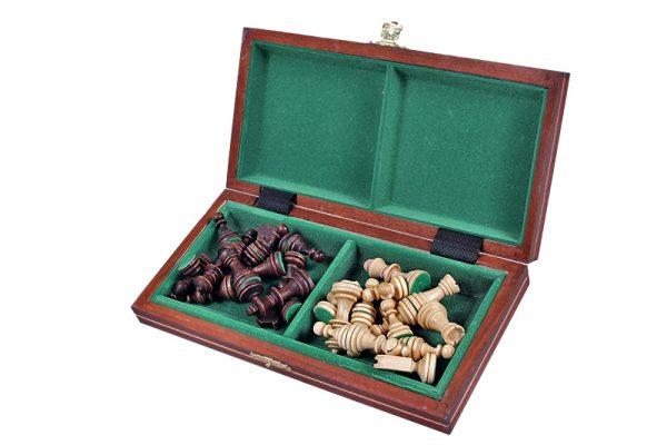 2 Set de sah magnetic cu tabla si piese de lemn