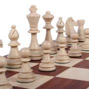 4 – Set de piese de sah din lemn, STAUNTON nr 6