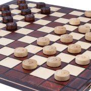 5 Joc de dame din lemn cu 100 de campuri