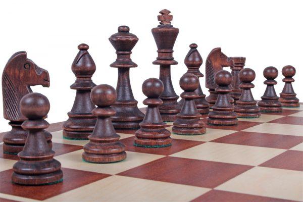 5 – Set de piese de sah din lemn, STAUNTON nr 6