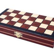 7 Set de sah magnetic cu tabla si piese de lemn