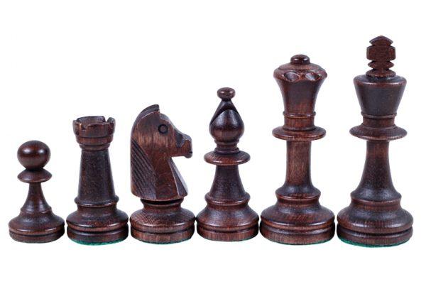 Set de sah STAUNTON nr 5, in cutie de lemn maro inchis 4