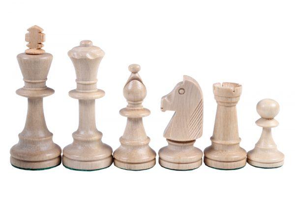Set de sah STAUNTON nr 5, in cutie de lemn maro inchis 5