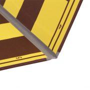 Tabla de sah carton dublata textil pe linia de pliere, galben-maro (5)