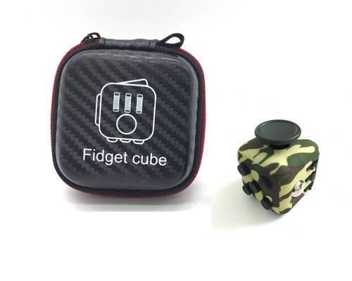 fidget-cube verde military