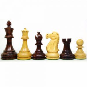 Set de piese de șah lemn sheesham